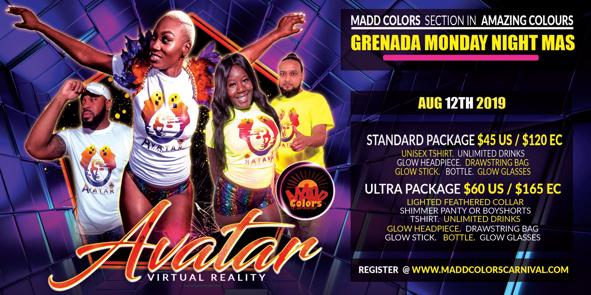 monday night mas Grenada 2019